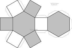 Resultado de imagen para hexagono regular para armar