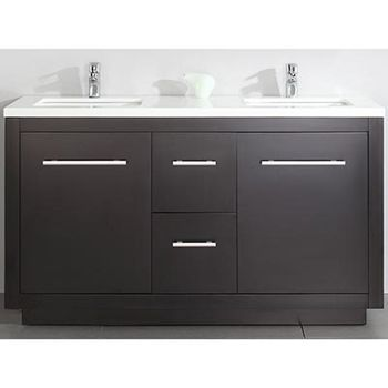 Costco Cubix 60 In Double Vanity Bathroom Renos