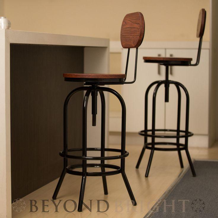 Best 25+ Vintage bar stools ideas on Pinterest | Rustic ...