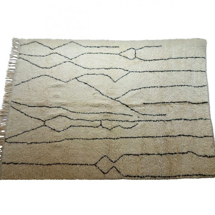 Beni Ouarain rug, no.130 { 310 x 220 cm } 15.000DKK