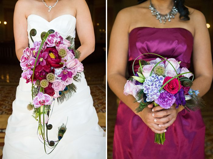 Gorgeous Jewel-Toned Wedding in Sacramento | Images by Jen Stewart Photography | via Modernly Wed | 19