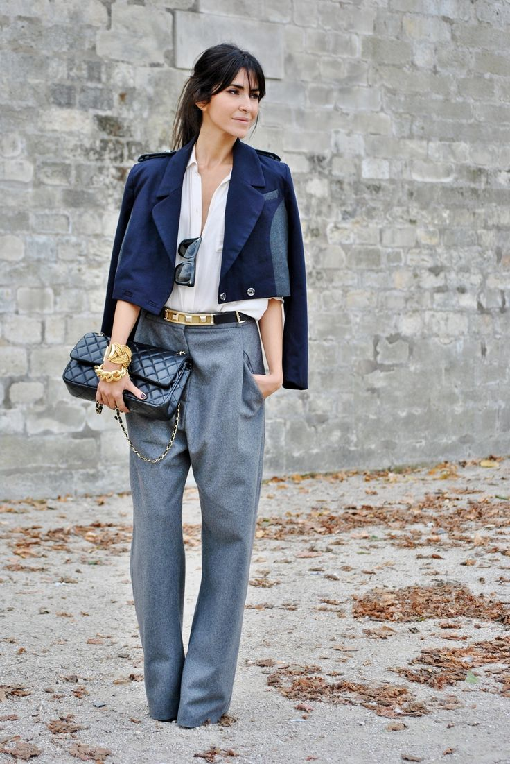 Ezgi Kiramer's Fashion Week Outfit: Outfits, Fashion, Style Inspiration, Blue, Street Style, Pants, Paris Street Style