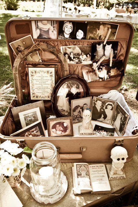 Top 20 Vintage Koffer Hochzeit Dekor Ideen
