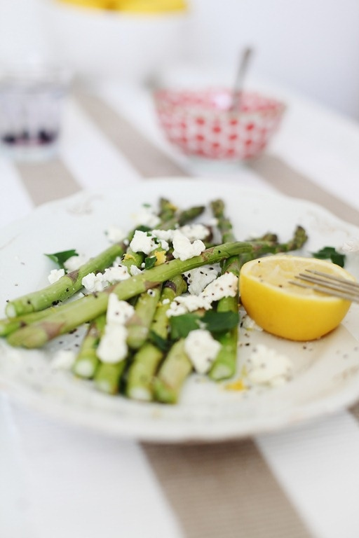 beach cottage lemon asparagus recipe