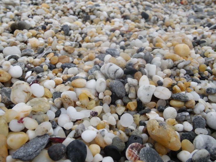 playa de piedras, preciosas!