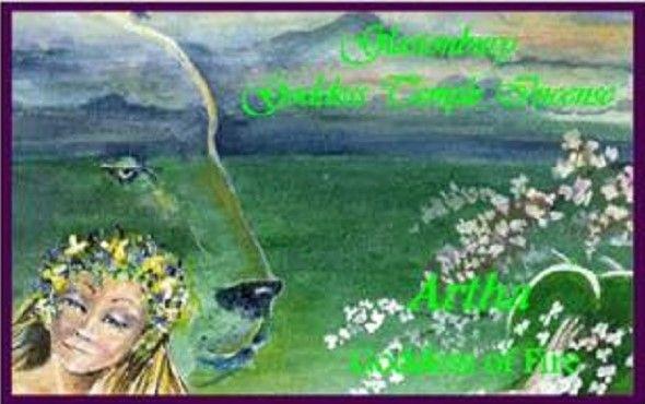 Goddess Temple Incense For Artha