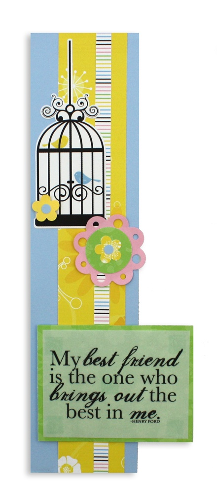 Cute Border made from Cheerful Power Palette from Creative Memories #scrapbooking.