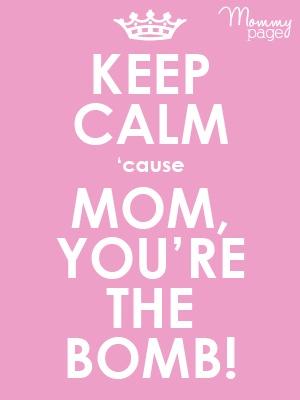 We love moms! #love #moms #mommypage