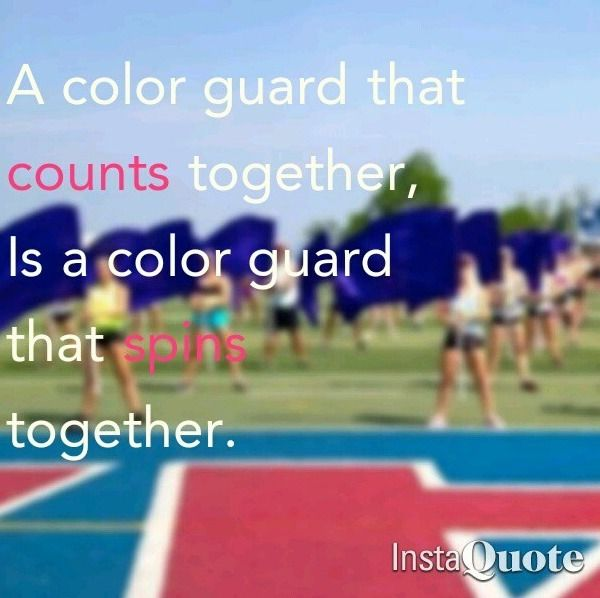 And the guard that spins together wins together