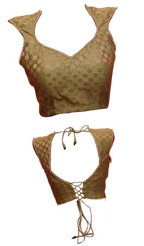 Princess cut designer saree blouse front and back neck designs | Fashion Designing