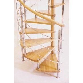 Лестница Спира Метал 010 общий вид