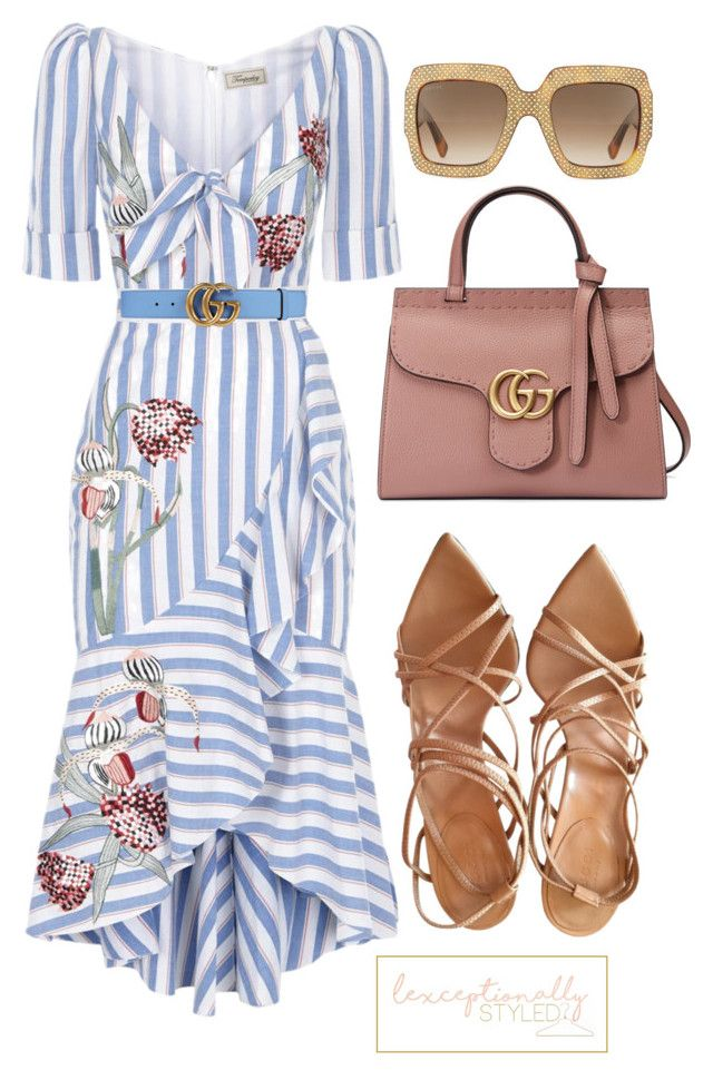 """""""Untitled #779"""" by lexceptionallystyled on Polyvore featuring Temperley London and Gucci"""