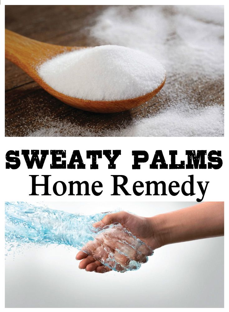how to get rid of sweaty palms permanently