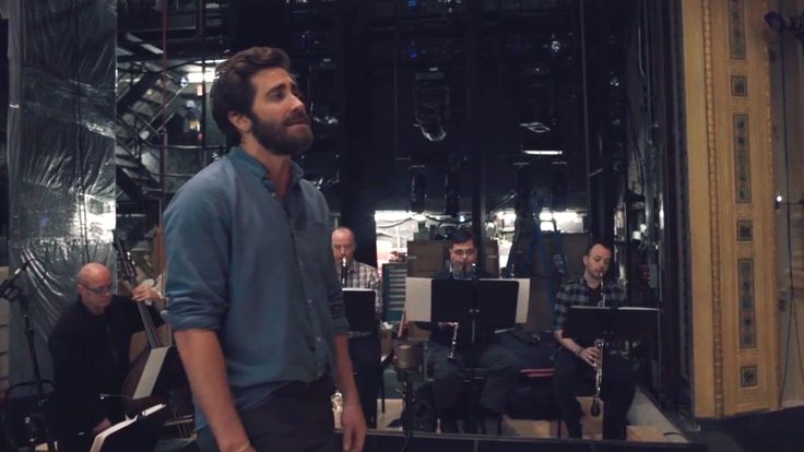 The video comes from Gyllenhaal's upcoming limited run in Stephen Sondheim's Sunday In The Park With George where he will reprise the role of 19th century painter Georges Seurat.