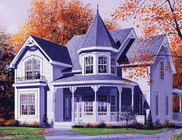 Eplans Queen Anne House Plan - Victorian Details - 2160 Square Feet and 3 Bedrooms from Eplans - House Plan Code HWEPL11833