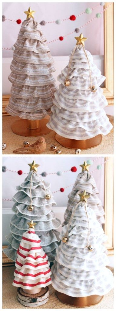 beautiful Christmas tree decorations. Create these cute cones for only 99¢!