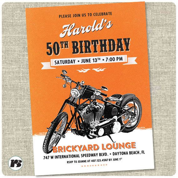 95 best Harley Davidson Party images – Free Printable Harley Davidson Birthday Cards