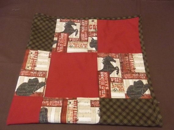Western Baby Bedding Cowboy Baby Bedding by TakeTwoBabyQuilts, $36.00