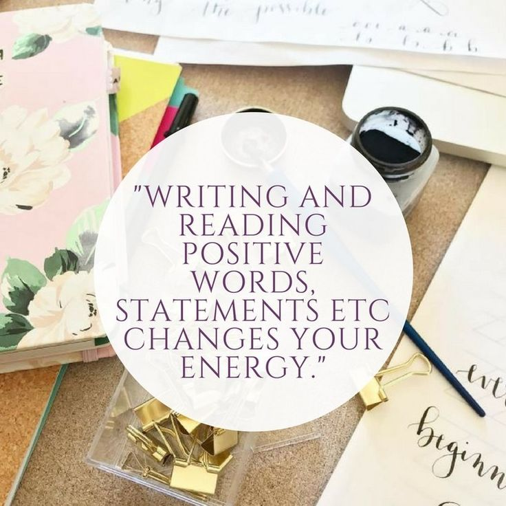 Change your energy by journaling and saying positive affirmations - interview with Nick from Life I Design