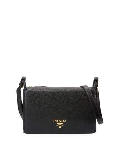 5a769a5d7653 Vitello Daino Small Flap Bag