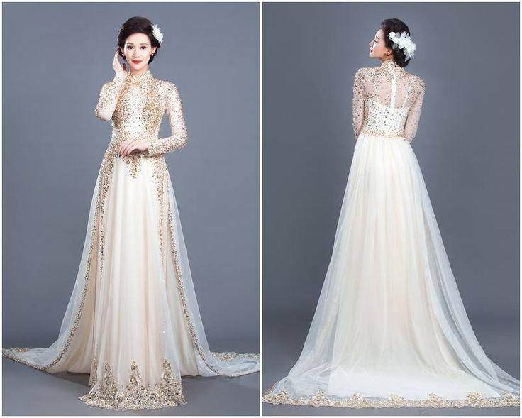 9 best Vietnamese ao dai images on Pinterest | Vietnamese dress, Ao ...