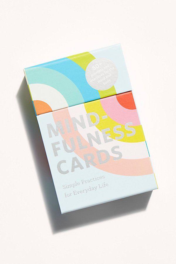 Mindfulness Cards Cards Mindfulness Deck Of Cards