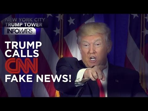 BREAKING! Trump Calls CNN and Buzzfeed Fake News In Press Conference