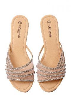 Flat mesh diamante sandal R240 #myqueensparksummer