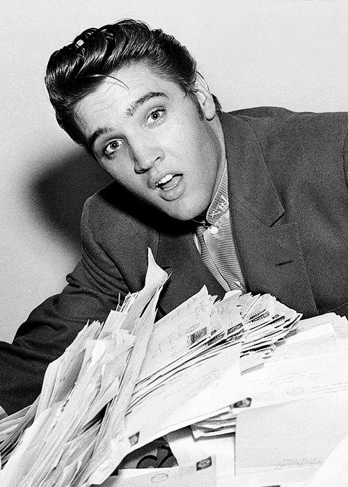 Elvis Presley, 1956.