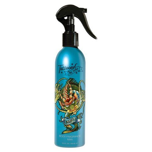 Tattooed By inky-DRAKO-BODY FRAGRANCE-MAN 8.5fl oz. by APRA. $7.19. 8.5 fl oz.. body fragrance man. Drako's elemental blend of spices, musk and precious woods can make you the stuff of legend.