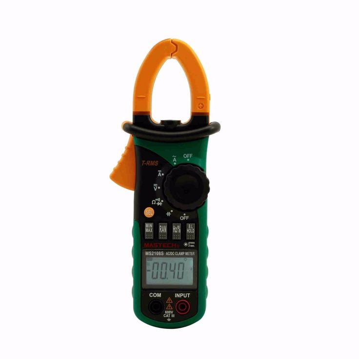 (39.99$)  Know more - http://ainvd.worlditems.win/all/product.php?id=1970498378 - MASTECH MS2108S True RMS Digital AC DC Current Clamp Meter Multimeter Capacitance Frequency Inrush Current Tester VS MS2108