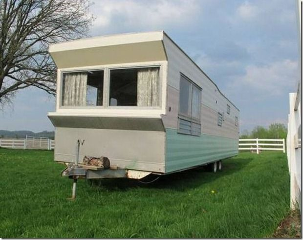 Vintage 1960 Time Capsule Rollohome Mobile Home Trailer For Sale ...