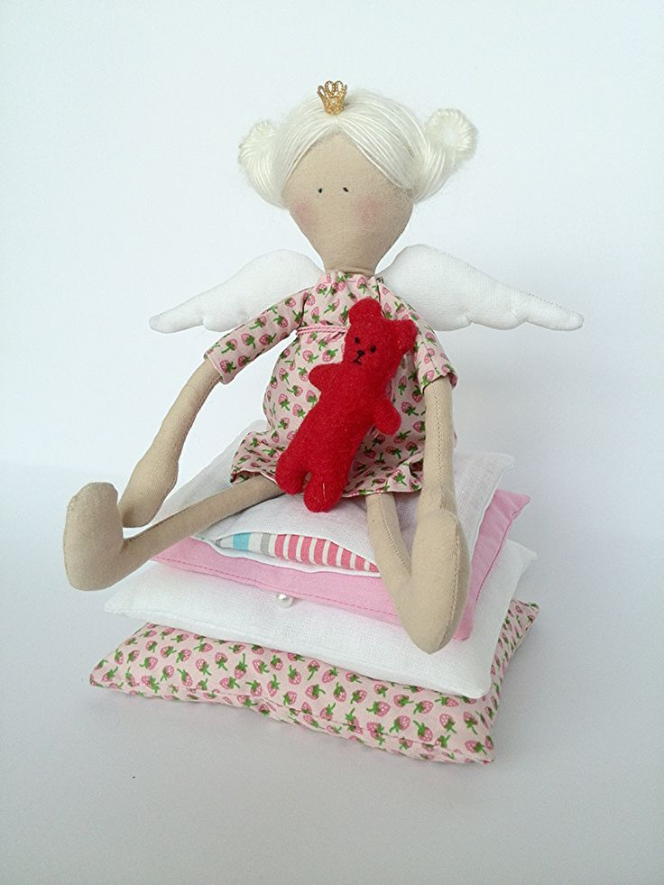 Little Princess and the Pea Doll tilde birthday gift   Doll made of cloth  interior doll by HandmadeShopUA on Etsy https://www.etsy.com/listing/229212016/little-princess-and-the-pea-doll-tilde