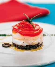 Ensalada de bacalao, pimientos y olivas | Delicooks | Good Food Good Life
