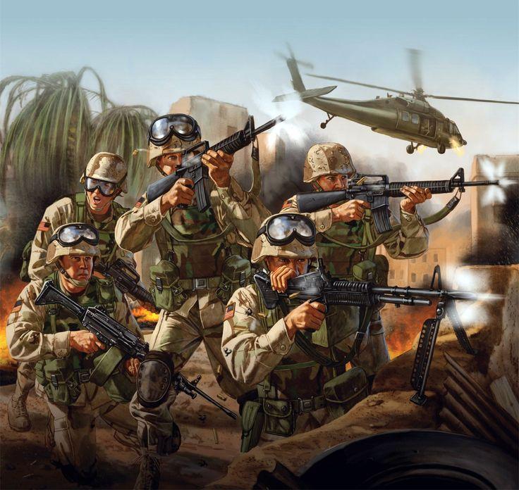 US forces, Black Hawk Down Mogadishu 1993