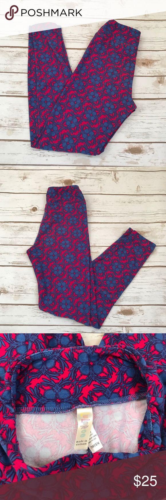 LuLaroe Tween Leggings Pattern leggings size tween Kids 8-14 Adult 0-00 LuLaRoe Pants Leggings