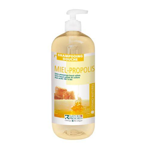 Sampon & gel de dus - miere si propolis 1000 ml http://www.vreau-bio.ro/sampon-bio/25-sampon-gel-de-dus-miere-si-propolis-1000-ml.html