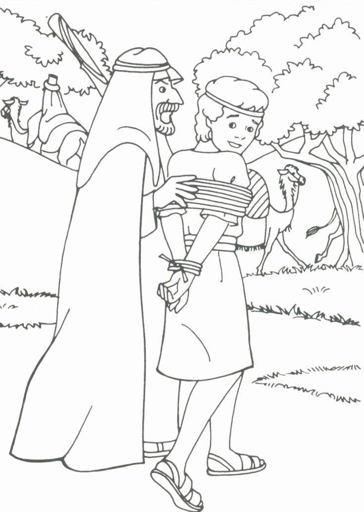 28 Joseph And His Brothers Coloring Page In 2020 Sunday School