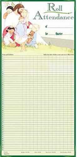 Dramatic image with sunday school attendance chart free printable
