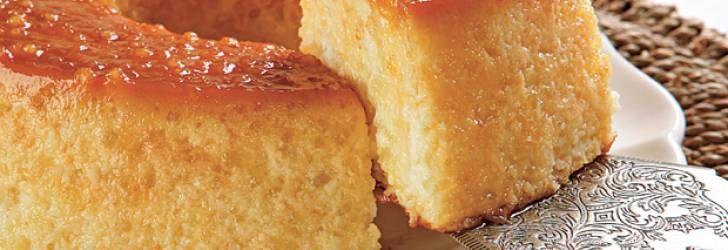 Receita de Torta pudim de tapioca - Receitas Supreme