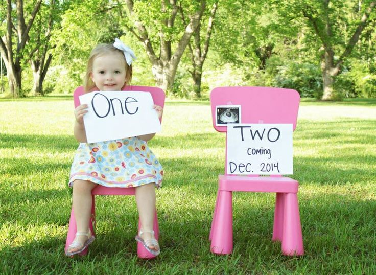2nd child announcement  K. Kelley Photography