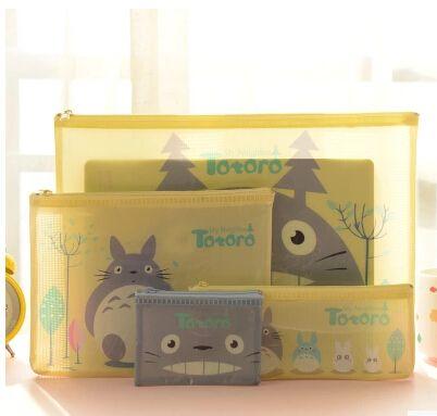 Encontrar Más Carpetas Archivadoras Información acerca de Novedad Totoro A4 A5 B6 Mini bolso del archivo del documento bolsa A4 File Folder presentación papelería producción KCS, alta calidad Carpetas Archivadoras de House of Novelty en Aliexpress.com