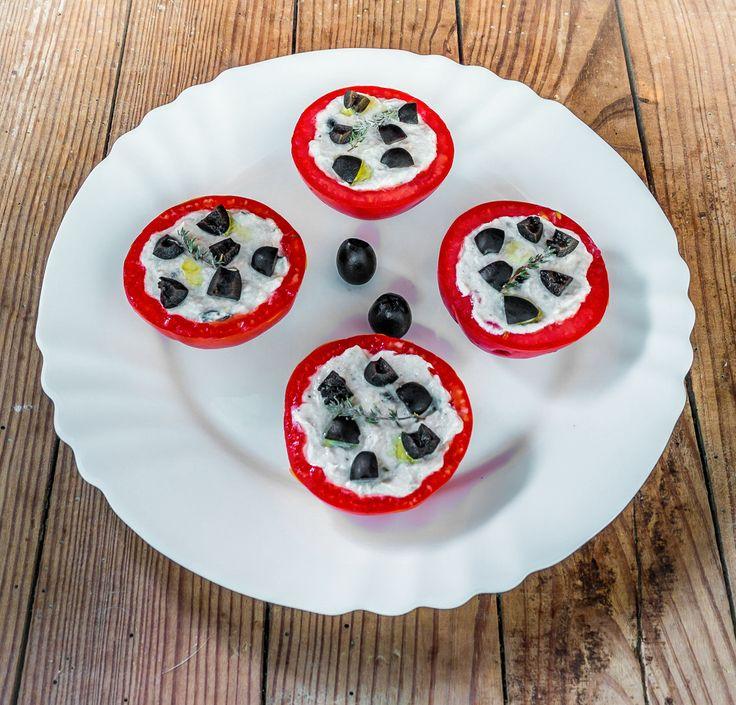 Tomates farcies au thon, 135kcal par portion, recette saine, recette minceur, bien être, 3b nutrition