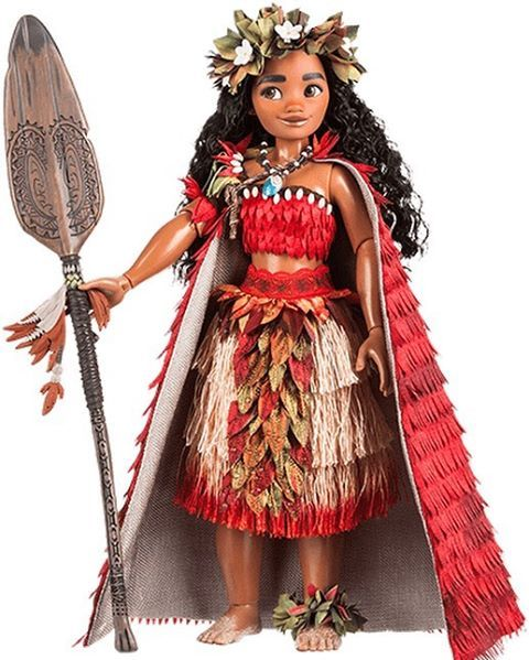 New Moana Doll Picture on the Disney Store UK Website. Moana Limited Edition Doll Edition Size 5,500 being released March 7 in Europe.