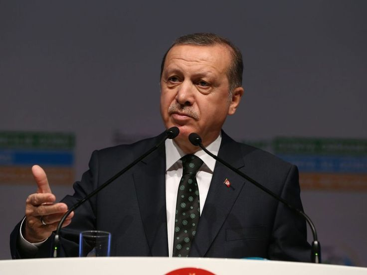 """Angela Merkel has accepted a request from Turkey to seek the prosecution of a comedian who read out an offensive poem about the Turkish President Recep Tayyip Erdoganon German television.  Under an obscure paragraphof Germany's criminal code, the government has to authorise prosecutors to pursue a case against the comedian, Jan Böhmermann, who stands accused of insulting a foreign leader.  """"There were different opinions between the coalition partners –the conservatives..."""