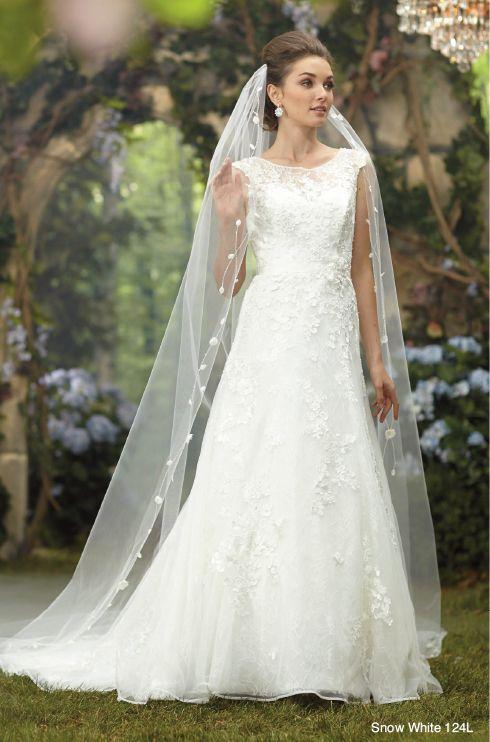 Alfred Angelos 2014 Disney Princess Snow White Veil Contact Lacey Joys Wedding Boutique