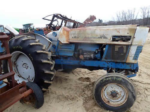 Ford 6000 Tractor Parts : Ford tractor salvaged for used parts this unit is