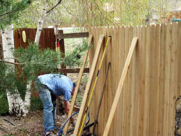 Fencing Repairs and Services by Micks Brisbane Handyman Services all handyman needs like gutter cleaning painting repairing gyprock new fences or repairs