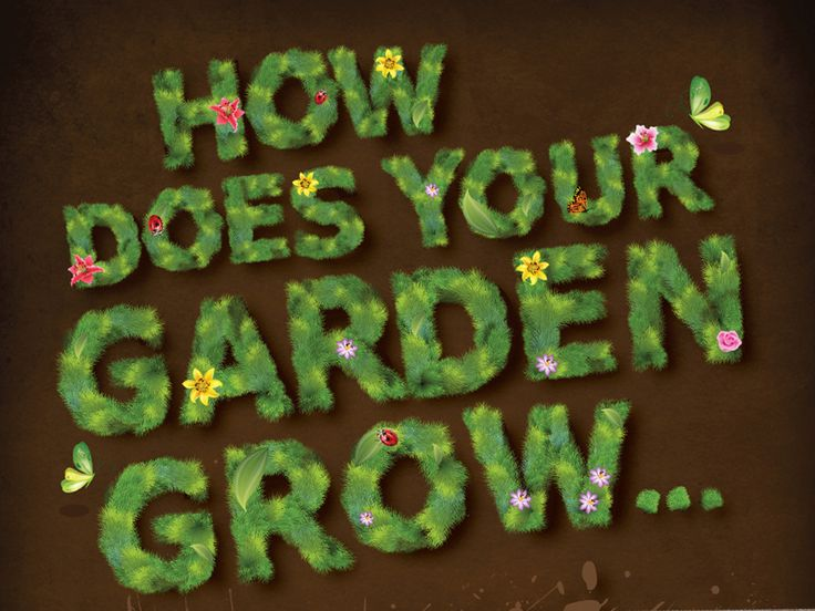 Typography Design for 'Compost Awareness' week.