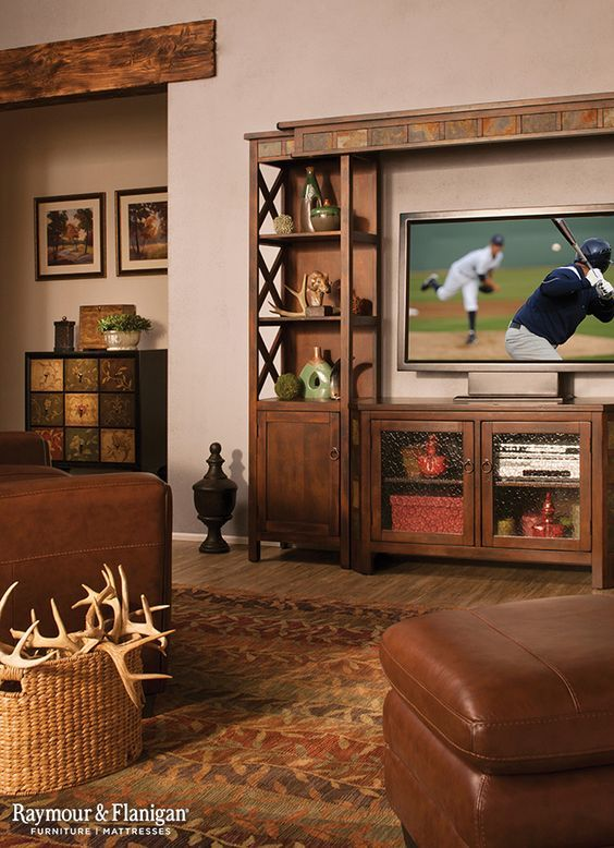 Want To Take Your Man Cave To The Next Level? An Entertainment Wall Is The